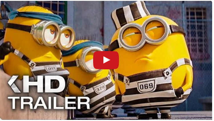 DESPICABLE ME 3 trailer video