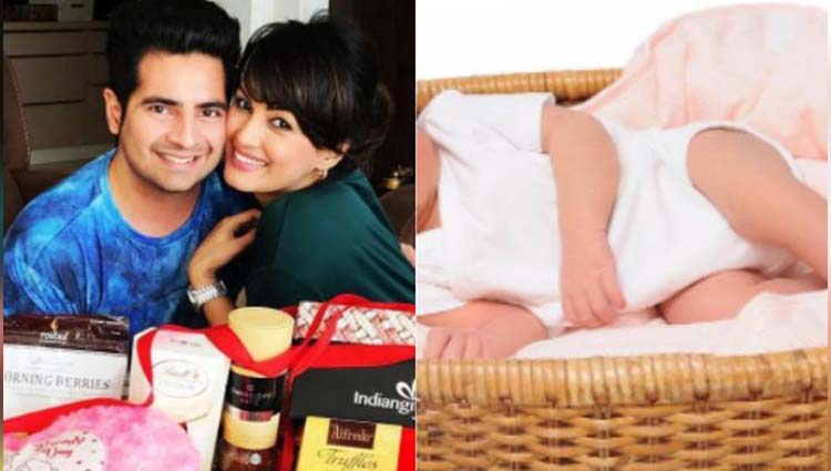 Karan Mehra- Nisha Rawal Shares 1st Picture Of Her Adorable Baby Boy