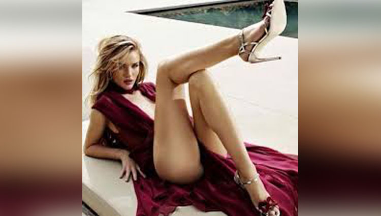 Rosie Huntington Whiteley photoshoot pictures gone viral on instagram