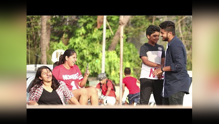 Are You My MOM Prank Feat Sam As Raj Son Baap Of Bakchod