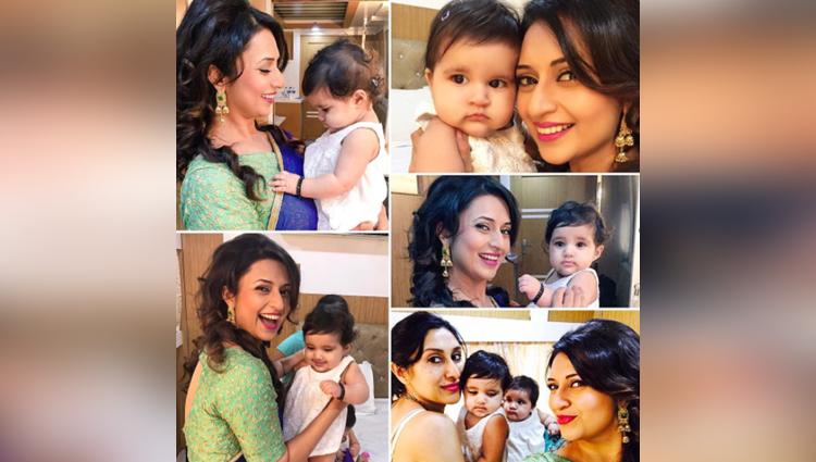 divyanka tripathi meets karanvir bohras adorable twin daughters