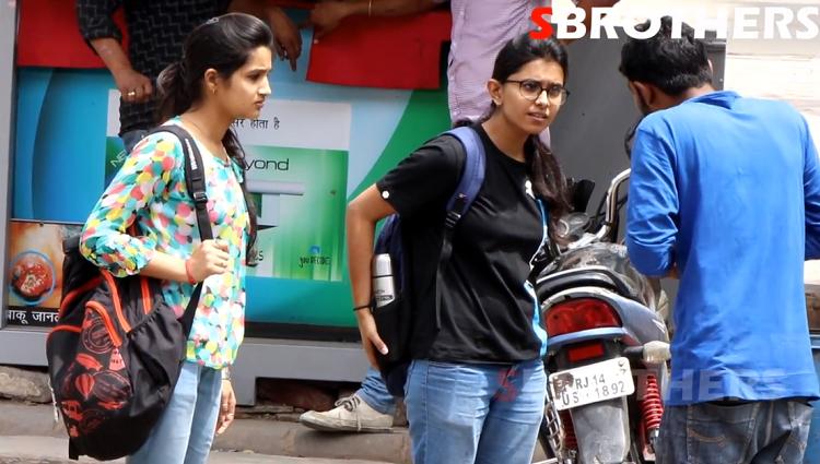 Apna Dedo Na Prank Prank On Cute and Hot Girls Asking Pranks In India Sbrothers Network