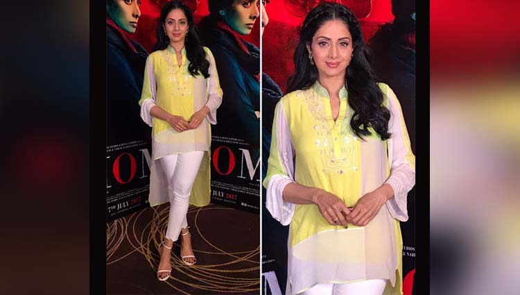Sridevi's Recent Look Is What We Dreamed For But Can't Even Have In Our 20's