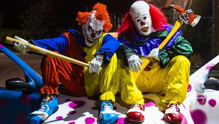 killer clown 4 massacre scare prank