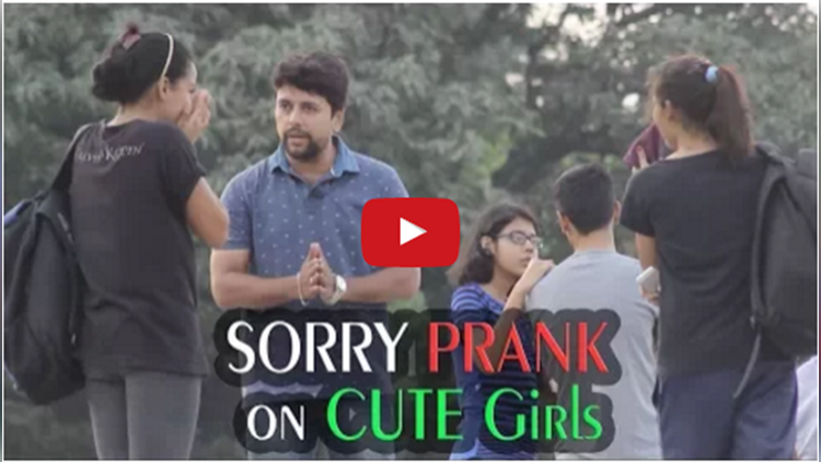 Saying SORRY to HOT Girls