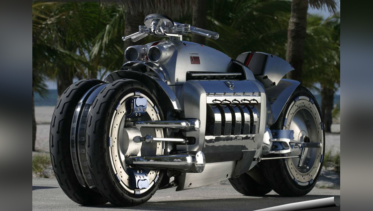 dodge tomahawk the fastest bike ever