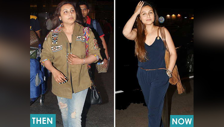 Rani Mukerji Fat To Fit Transformation come back in movies