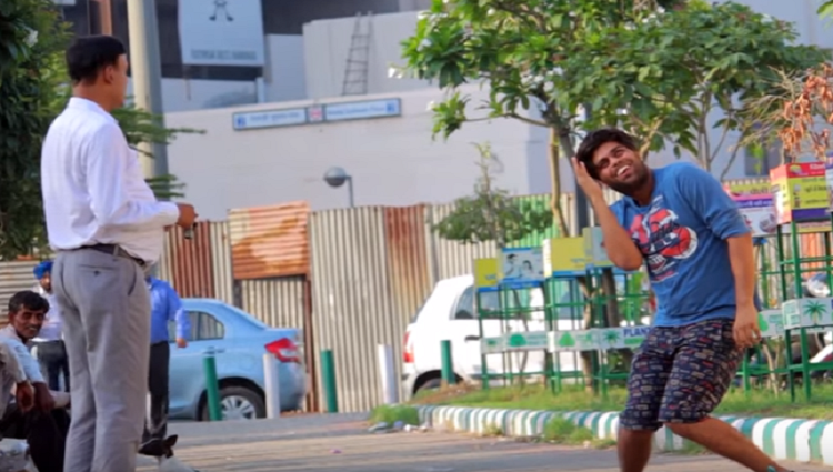 UGLY BODY POSES PRANK TST Pranks in India