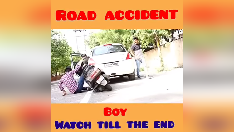 road accident boys vs girls reaction virat beniwal
