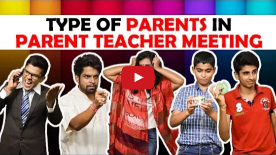 Type of Parents in Parent-Teacher meeting