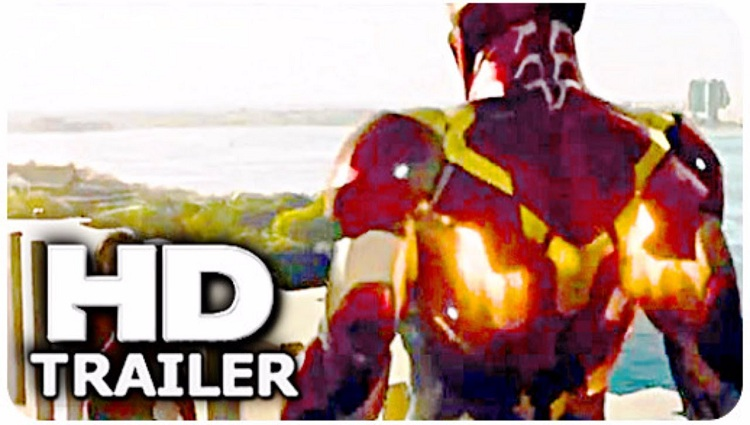 SPIDERMAN HOMECOMING Iron Man Vs Spider Man Trailer NEW