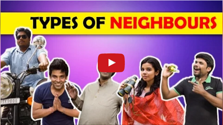 Types of Neighbours