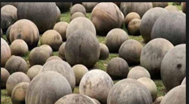 argentina sear weird stones dinosaur egg