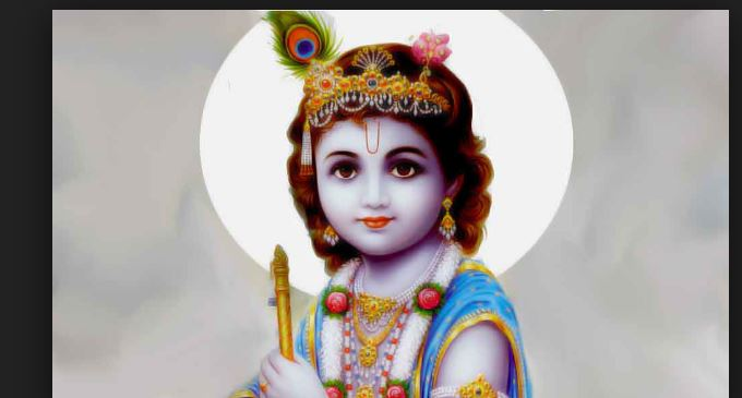 sri krishna gave shrap to hit son