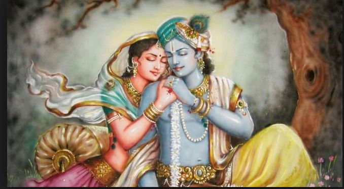 What happened to Radha after Krishna moved to dwarka