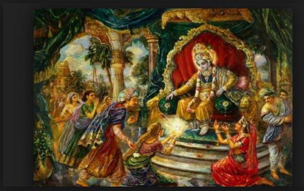When lord krishna defeated jarasandha 17 times