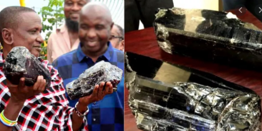 Tanzanian miner sells rare gemstones for 3 point 4 million
