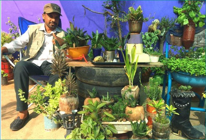 mohammed best out of waste garden