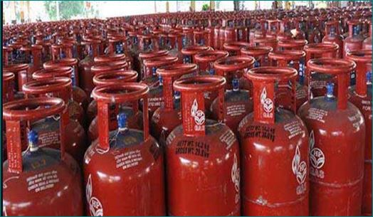 Why are domestic LPG cylinders red