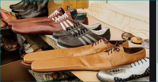 Romanian shoemaker design longnose footwear to help social distancing