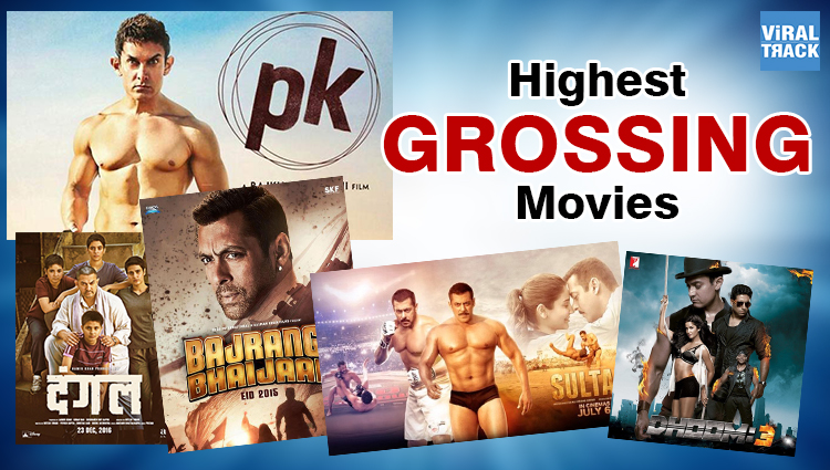 Top Grossing bollywood Movies of bollywood