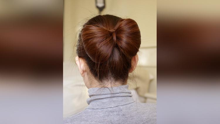 Hair Bow Tutorial for Long Hair