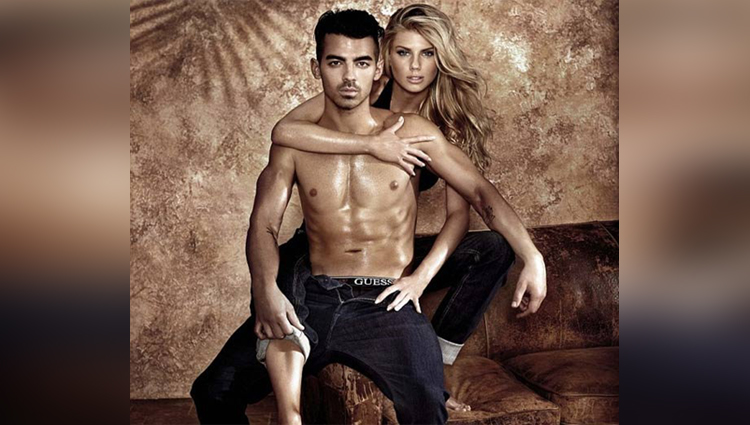 charlotte mckinney and joe jonas photoshoot