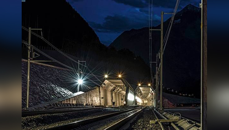 Longest Rail tunnel in india