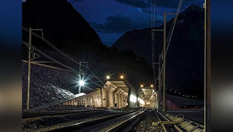 Longest Rail tunnel in india