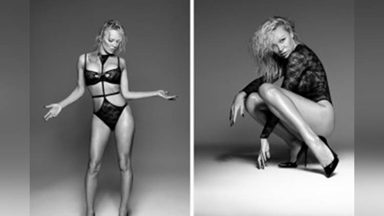 pamela anderson 49 old year but so hot and sexy looks