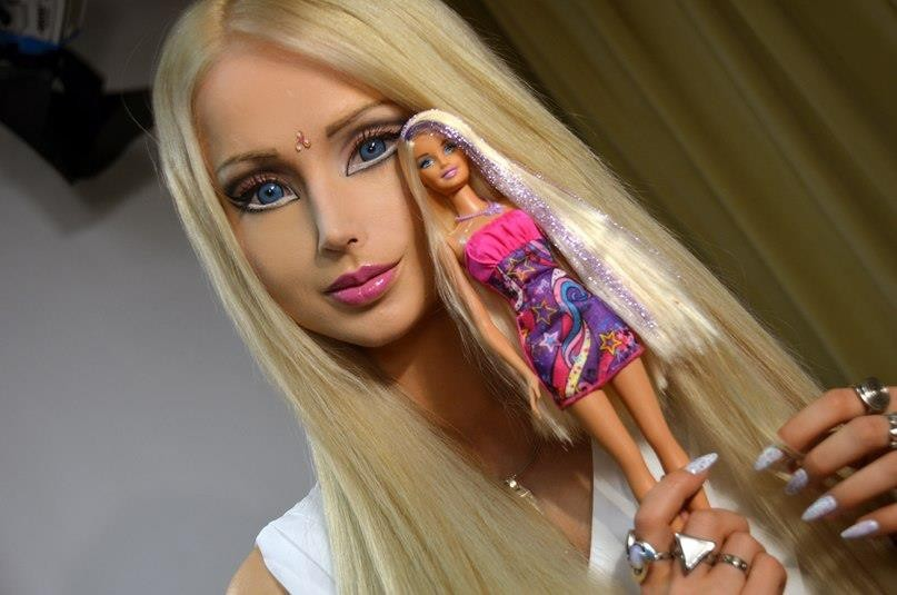 Barbie Girl was even more beautiful