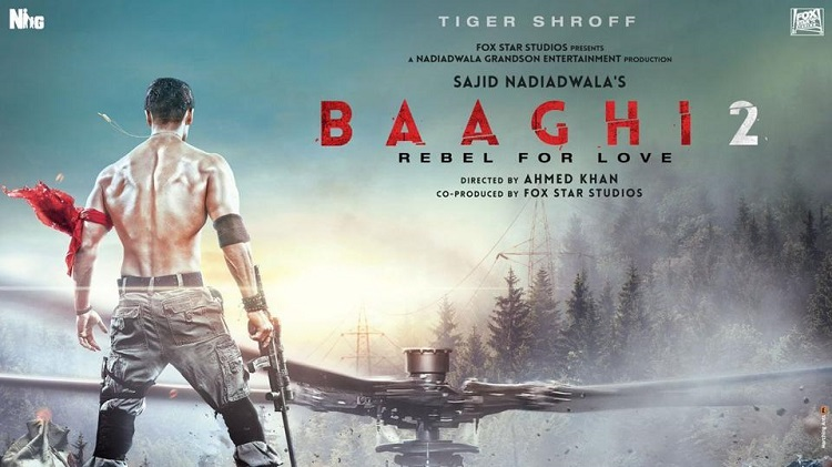 tiger shroffs baaghi 2 poster released