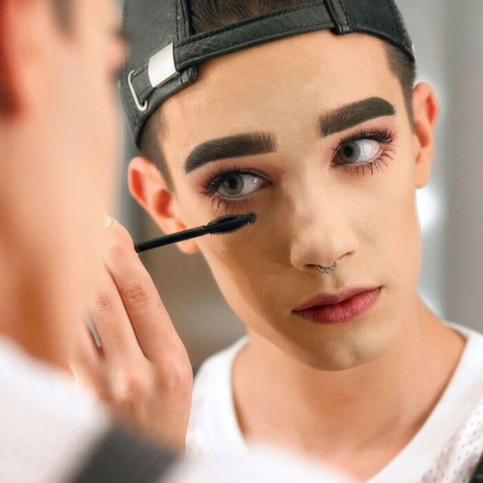 first time a boy on a covergirl