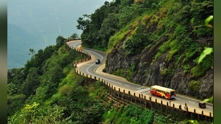 beauty and adventurous roads of india