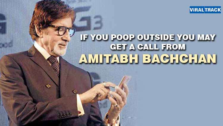 Amitabh Bachchan Calling.... Government Comes up with a Quirky Move to Stop Open Defecation!