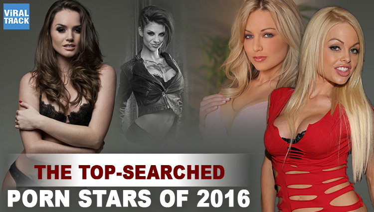 top searched pornstars of 2016