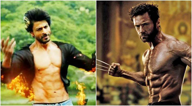 shahrukh khan in wolverine upcoming