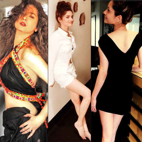tv actress ankita lokhande viral pictures