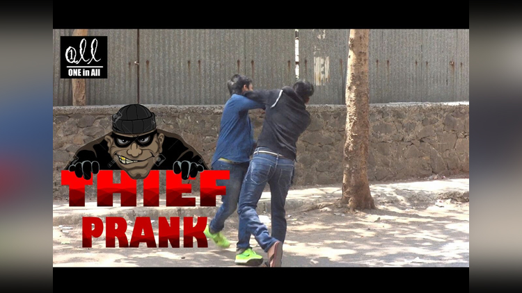 Best April Fool Prank in India Bag Thief Funny Prank Hilarious Comedy One In All