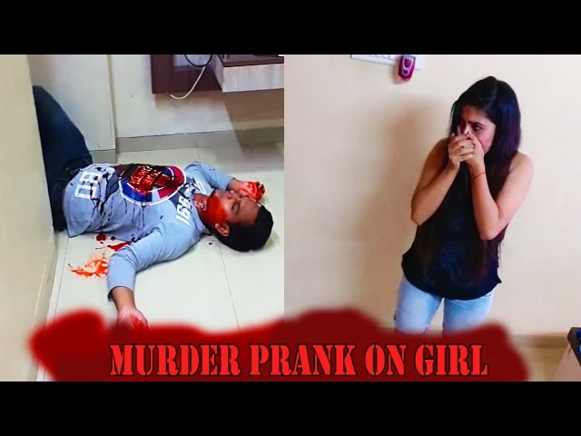 Girl Trapped with dead body Caught on Camera Pranks In India