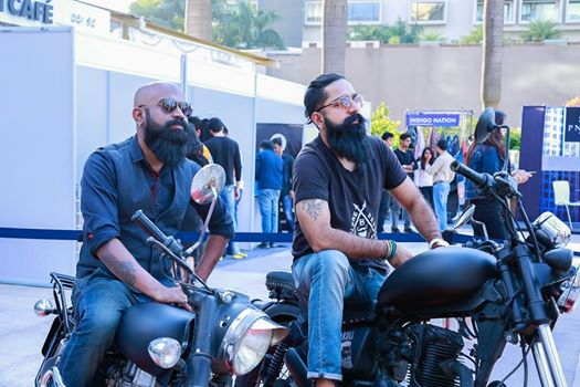 beard and moustache competition organised by bangalore