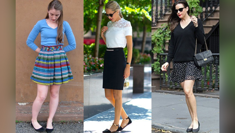 Some Unique Ways to wear a short skirt