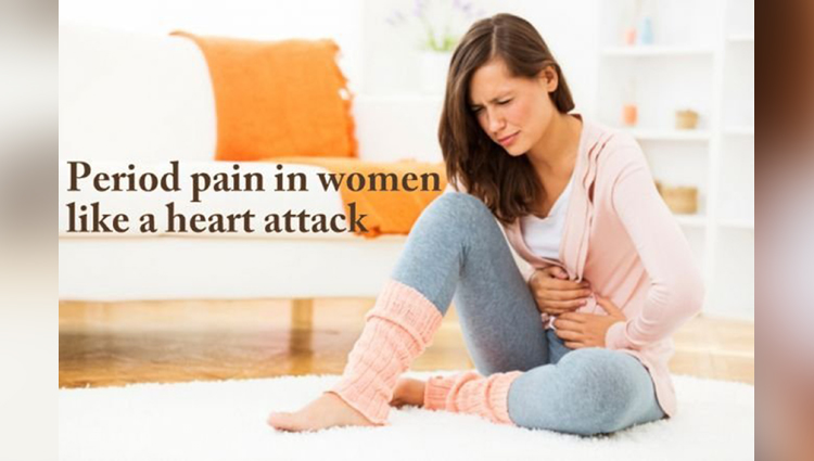 That's True: Period pain as painful as a HEART ATTACK, According to experts