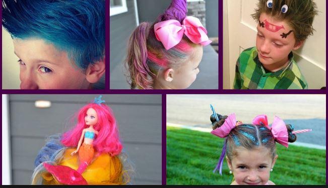 new hair style kids weird hair style