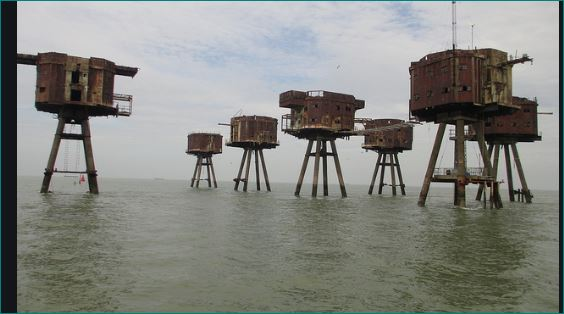 Red Sands Fort of England The Abandoned Sea Forts From Second World War