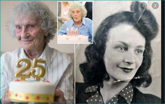 Portsmouth centenarian celebrates 25th birthday on leap year