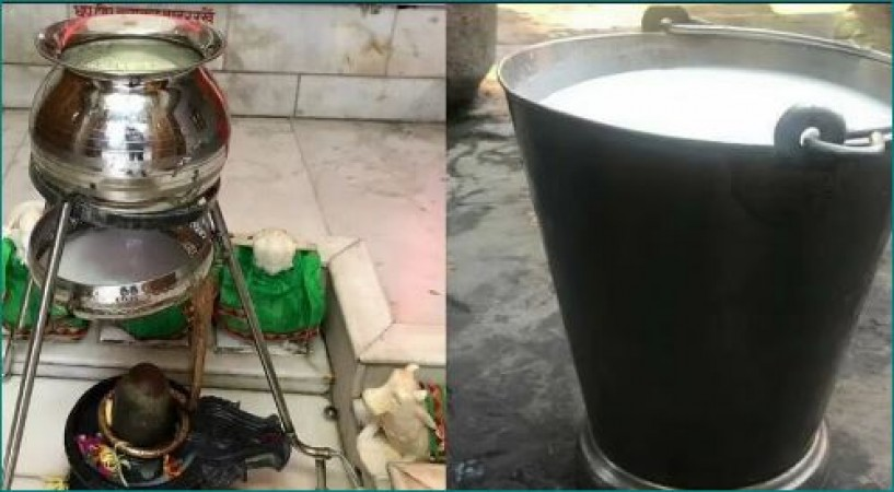 Meerut Student Jugaad to Save Milk Offered LORD SHIVA