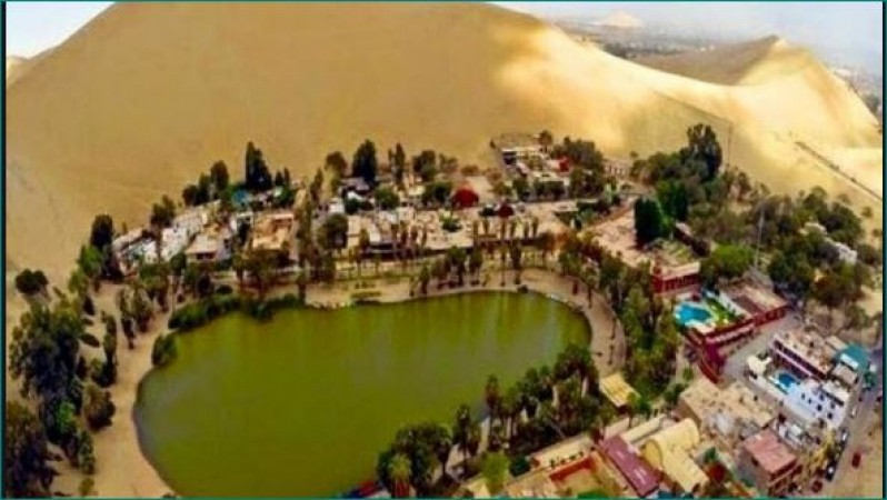 Lavish Village Huacachina Is In Peru Is Deserted Known As Oasis