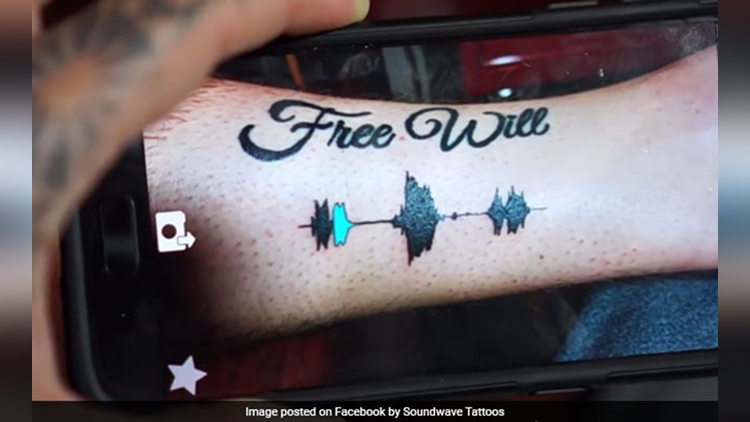 A Tattoo That You Can Listen To Its Actually A Reality Now