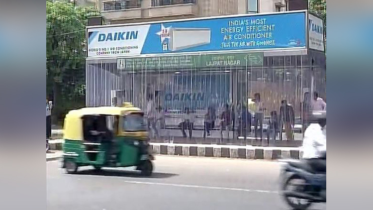 The First Fully AC Bus Stop Of Delhi Has Been In Headlines